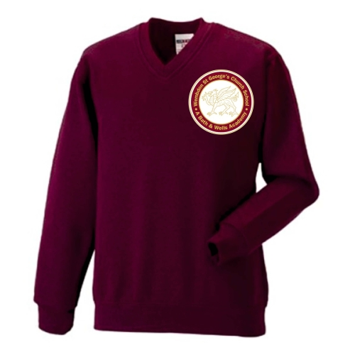 VNeck Sweatshirt