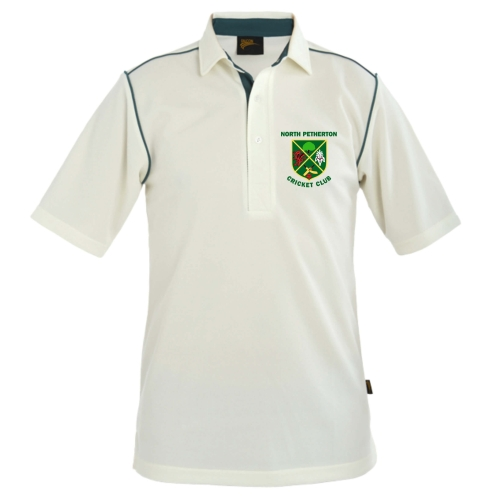 NPCC JUNIOR WHITES POLO