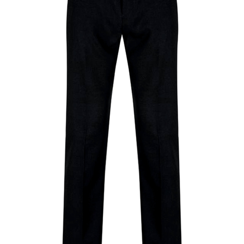 SLIM LEG TLT BLACK TROUSER