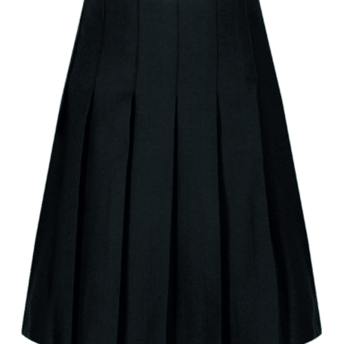 pleat skirt grey