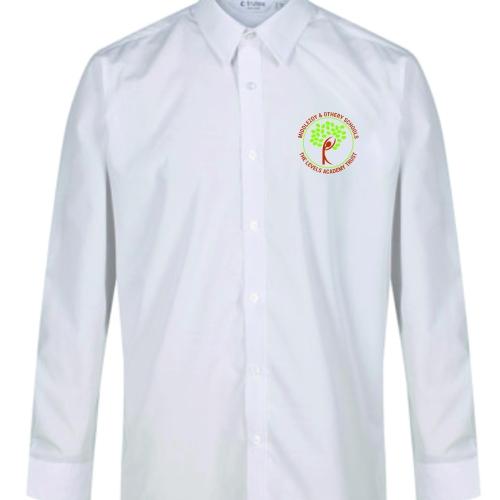 trutex white LS shirt twin pack