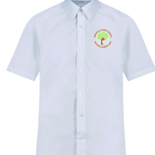 trutex white short sleev shirts twin pack